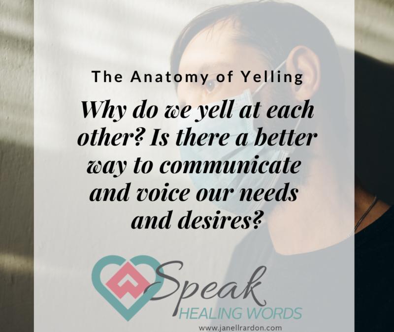 S3E11: The Anatomy of Yelling